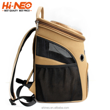 High End Customized Fashionable Portable Pet Bag Carrier Indoor and Outdoor