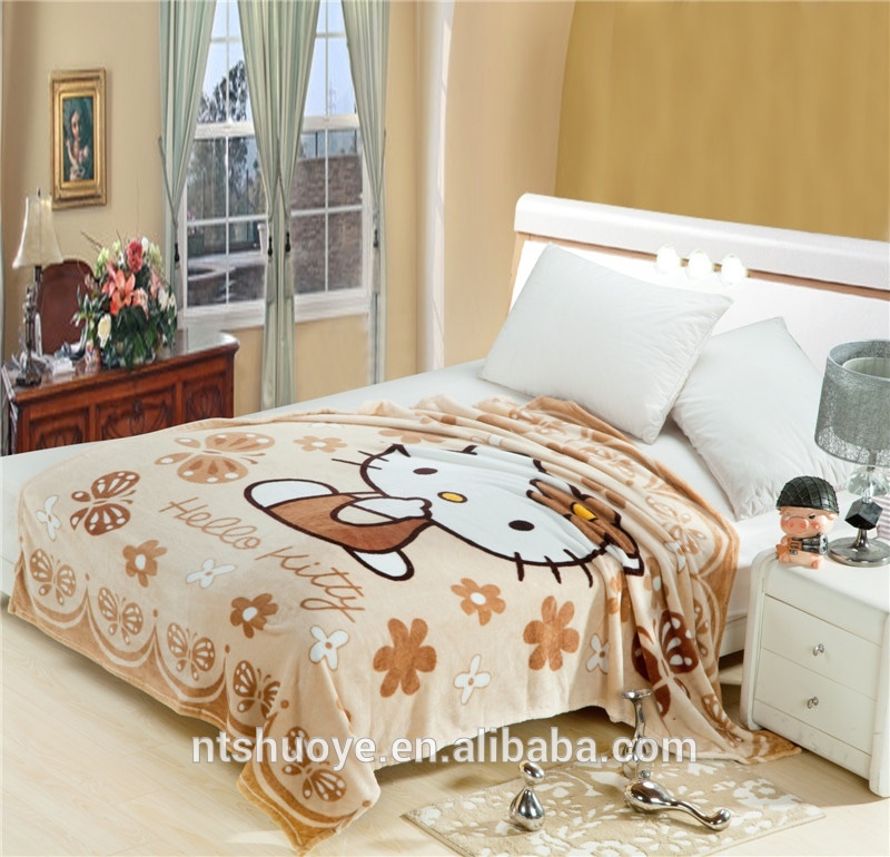 Chinese supplier hot sale colorful wired animal print 100 polyester sherpa fur blanket of ISO9001 Standard