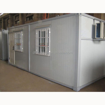 Water Resistant Steel Strong Prefab Shipping Container Room