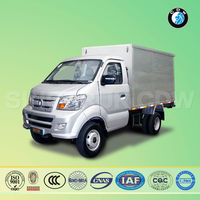2016 good selling diesel engine mini cargo mobile food truck van