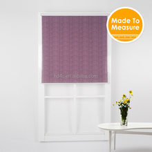 Popular Digital Printed Sunscreen Fabric Sheer Art Roller Blinds Shade With Bead Chain inches Custom made size