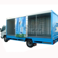 Patented Curtain Side Truck And Trailer
