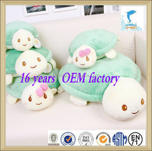 2016 hot Selling 20cm green turtle plush toy for festival gift