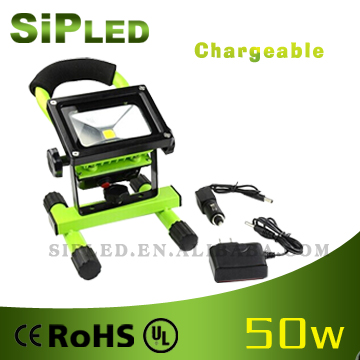 Movable 50w Rechargeable portable Led Flood Lights With Handle