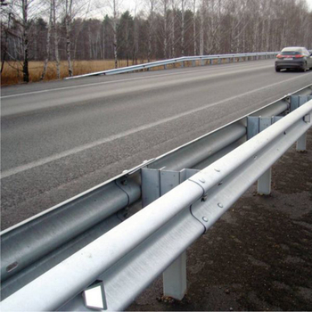 High strength traffic barrier thickness w-beam guardrail detail for sale