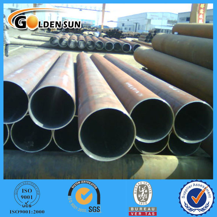 Trade Assurance API Black Round Section Weldless Special Steel Tube