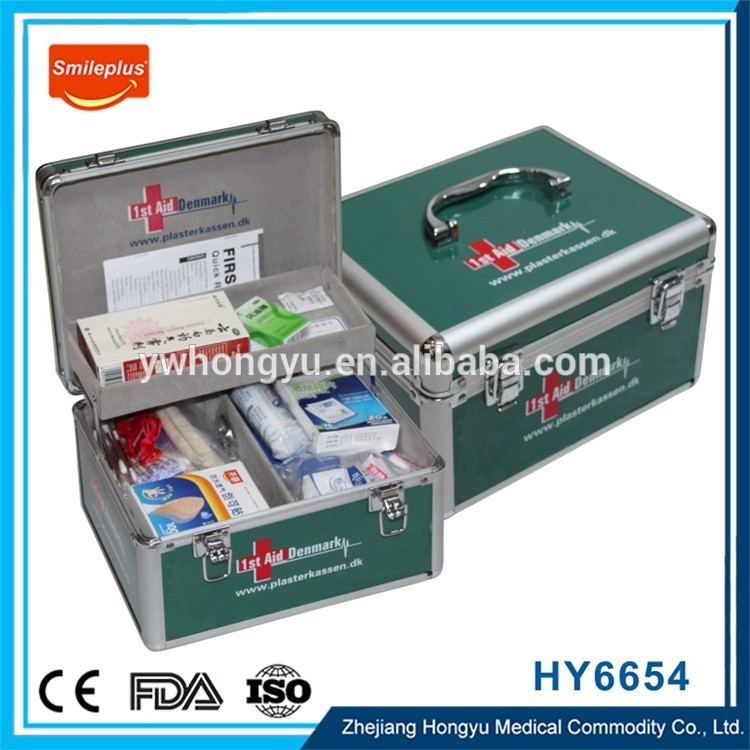 Medic Case Pvc First Aid Box , First Aid Kit Box Medical First Aid Kit