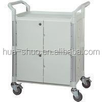 medical rolling carts and hospital food trolley