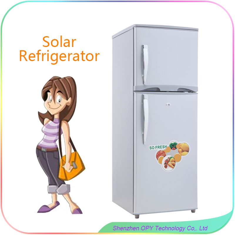 230l chest type chiller solar refrigerator