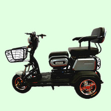 China 2018 adult electric tricycle with passenger seat for South Korea three wheel bike