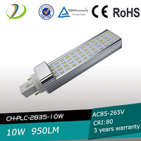 High quality led plc light 6W 8W 10W 12W 13W UL CE RoHS listed Dimmable led plc lamp e27