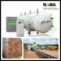 3CBM Radio Frequency Lumber Drying Kilns For Sale From SAGA