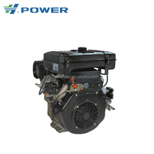 electrical motor two-cylinder air cooled diesel engine HP2V86FE