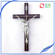 20cm wood cross jesus rosary cross wood crucifix catholic cross