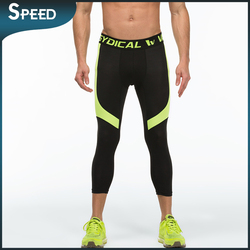 MMA Branded products flexible breathable fleece footless skintight leggings/.