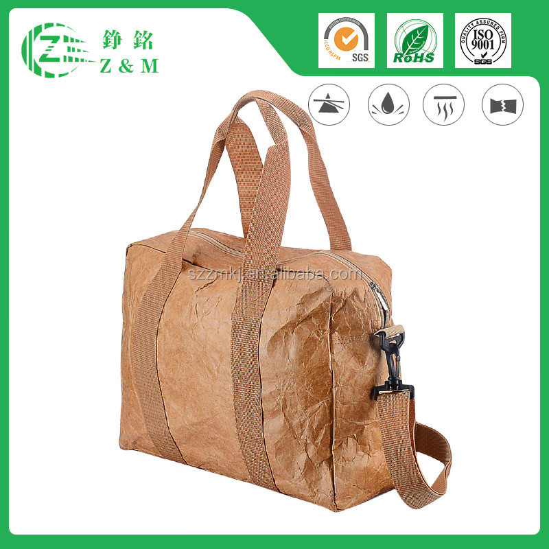 Hot Sale New Design Customized Select Zippered Tote Tyvek Bag
