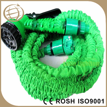Flexible hose fiber braid rubber water garden hose pipes made in manufacturer