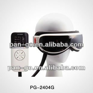 ultrasonic vibration and air pressure head and eye massager