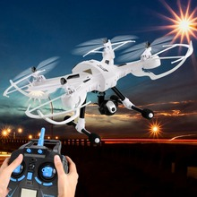 2MP Wifi Camera 4CH 2.4G 6-Axis Gyro Headless Mode One Key Return RC Quadcopter Drone White