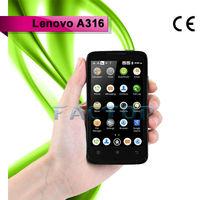 lenovo a316 dual sim card with CE original android 4.0 3 sim card gsm cdma mobile phone best quality
