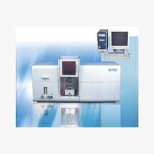 Atomic absorption spectrometer for stainless steel metal analysis