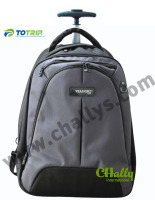 High quality waterproof laptop backpack with wheels