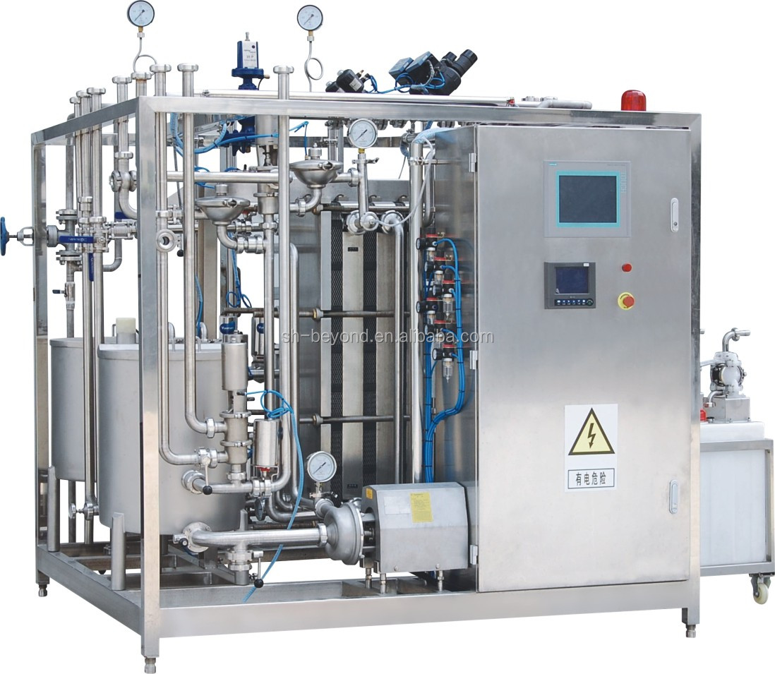 fully automatic milk and beverage pasteurizer