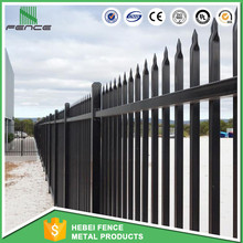 China manufacture wholesale Picket Steel Fence / Cheap Security Palisade Fence