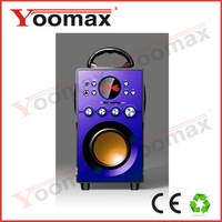 2014 new bluetooth speaker with chargeable battery,2.1 ch portable high power system,usb/sd/fm/led/remote contorl,china