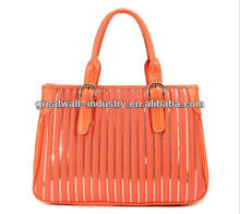 2013-latest new style fashion ladies handbags bags colourful for women