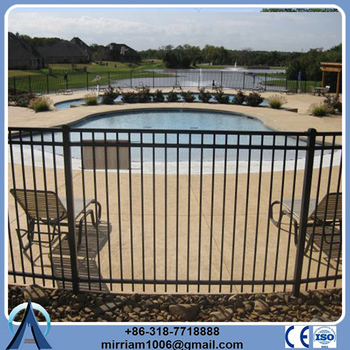 Wholesale China Merchandise secure residential ornamental iron fence