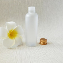 100ml white pet plastic lotion bottle for essential oil and cosmetic