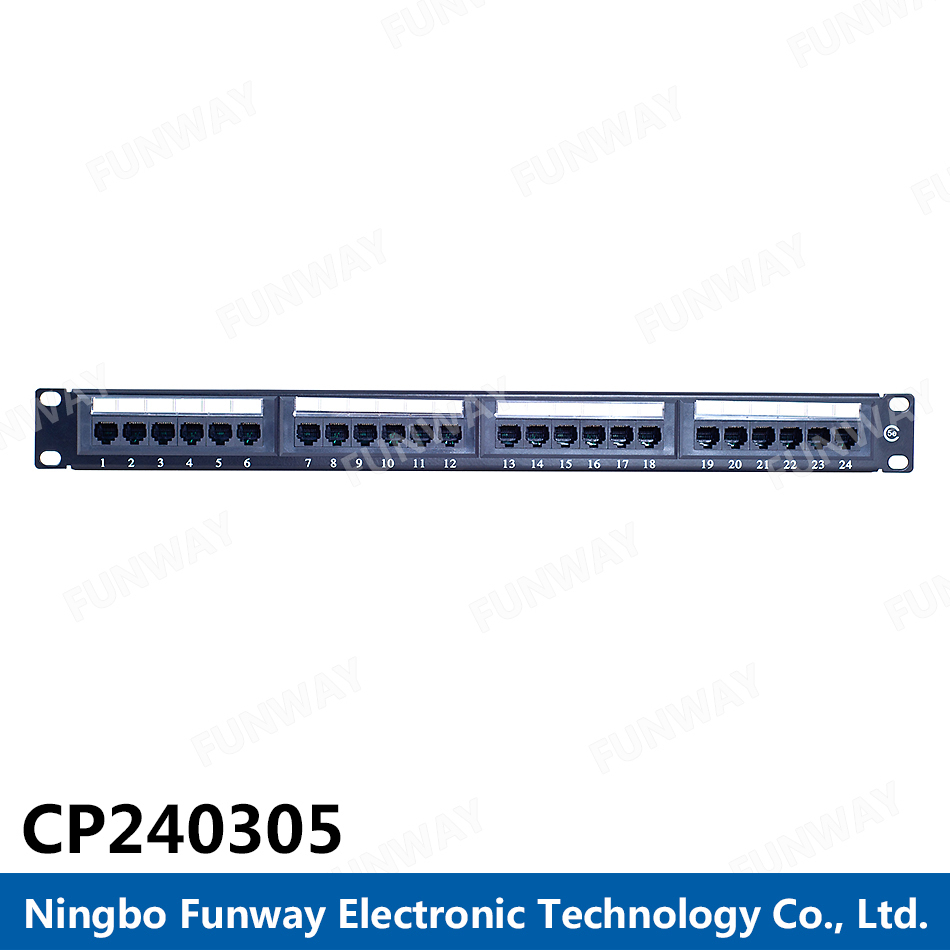 Funway Manufacturer ftp cat6 patch panel