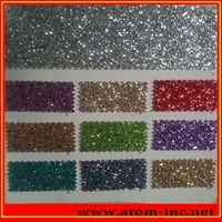 glitter leather for shoes, bags and gift card