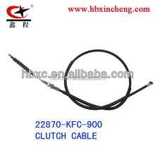 motorcycle parts clutch cable for South America market for hon-da motors