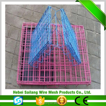 High quality galvanized iron wire chain link dog cages