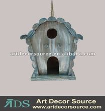 antique hangingwood bird house
