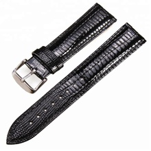 ALibaba hot selling Low price High quality Real Leather watch band