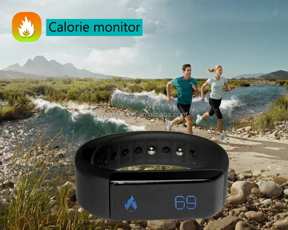 factory supply wristband bluetooth i5 plus pedometer sport bracelet with USB port SMS display on screen