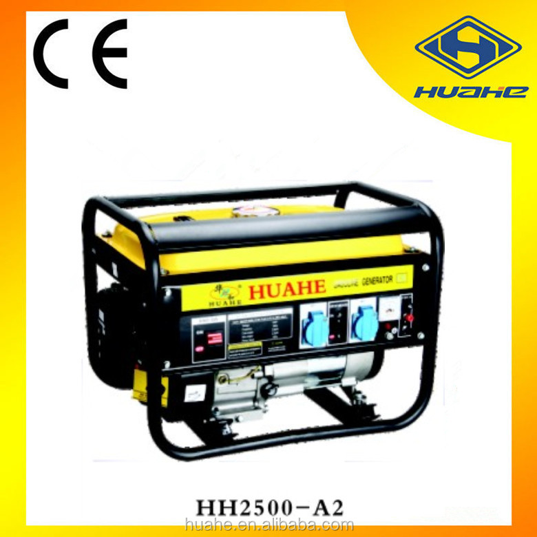 best quality iso 9001 4 stroke recoil/electric start 2kw gasoline generator 5.5hp,generator gasoline
