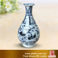 Modern art display tabletop ceramic small vases for sale