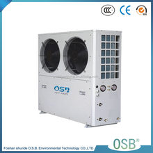 CE approved high cop Air Source EVI 85C Heat Pump,keep working at -25C