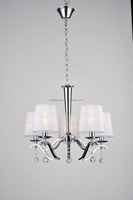 Indoor decorative fancy modern pendant lamp 2014 clear crystal chandelier