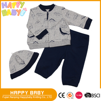 Dinosar Print Baby Boy Clothing Set