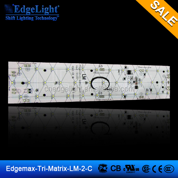 Edgelight LM-2 24v led FR4 backlight smd led pcb module , 144 3528 leds , CE/ROHS/UL led backlight module