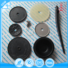 Non Return One Way Custom PTFE EPDM Rubber Silicone Valve Diaphragm