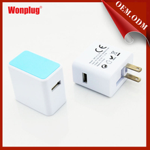 Us Plug Usb Charger For Iphone Charger 5.1v 2.1a