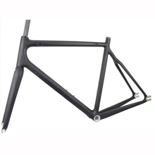 Hight ModulusToray T700 Carbon Fiber Fixed gear bike frame