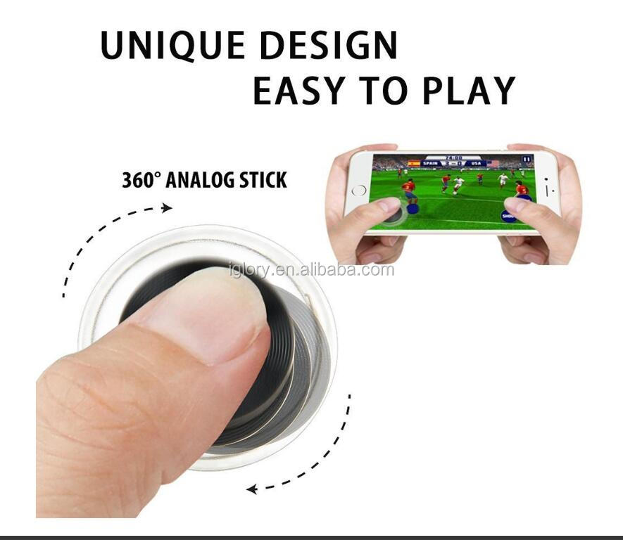 Mobile Game Fling Mini Joystick Supported for smartphone