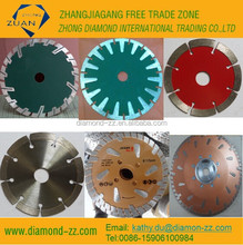 dry hot pressed Diamond Cutting Saw Blade for cutting marble